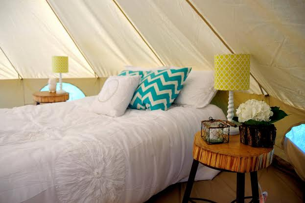 Glamping at its finest!